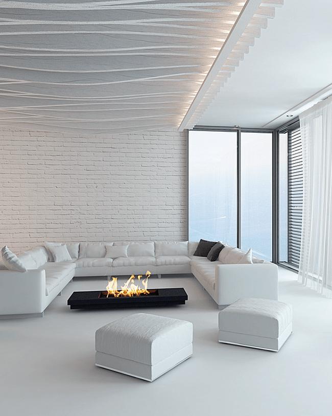 Cheminees haut de gamme en pierre de luxe design for Marques robinetterie salle bain